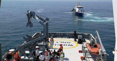 Desfăşurare impresionantă de forţe  în Marea Neagră. Exerciţiul SARPOL, la final