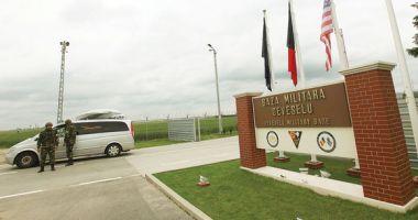 Cinci militari americani de la Deveselu, amendați de polițiști