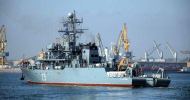 De veghe în Marea Neagră. Forţele Navale Române participă la misiuni de supraveghere a traficului maritim
