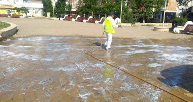 Dezinfecție și dezinsecție în toate cartierele și în centrul Constanței