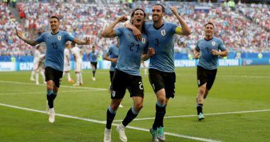 CM 2018. Uruguay - Rusia 3-0. Suarez şi Cavani lovesc, Cheryshev îşi dă şi el autogol, iar Uruguayul câştigă grupa A