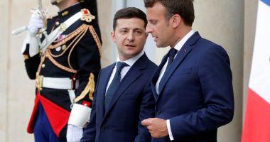 Dialog Macron - Zelenski, înainte de summitul din septembrie