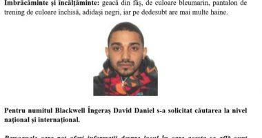 A dispărut Blackwell Îngeraş. Dacă l-aţi văzut, anunţaţi imediat Poliţia!