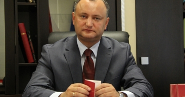 Igor Dodon, preşedintele Republicii Moldova, la a doua sa vizită oficială la Moscova
