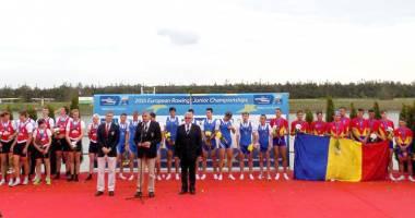 Doi canotori de la CS Farul, medaliaţi cu bronz la Europene