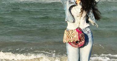 Doinița Oancea, vacanță pe litoralul românesc