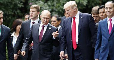 Donald Trump l-a invitat  pe Vladimir Putin în SUA