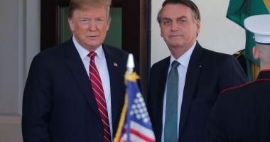 Donald Trump iniţiază procesul de a declara Brazilia drept aliat major non-NATO