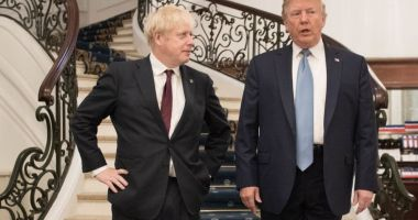 Donald Trump l-a invitat pe Boris Johnson la Casa Albă