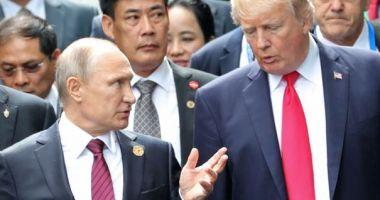 Vladimir Putin îl laudă pe Donald Trump