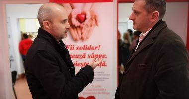 Mobilizare exemplară la Constanţa, pentru donare de sânge