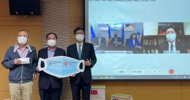 Donații de măști faciale de protecţie și teste rapide anti-Covid pentru Constanța