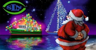 Moş Crăciun vine la copiii  lupilor de mare