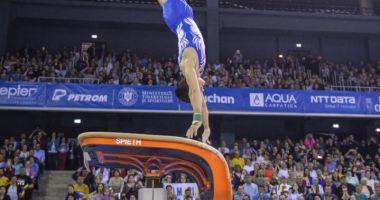Gimnastică / Marian Drăgulescu, pe locul cinci la Cupa Mondială de la Osijek