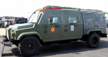 Cum arată noul bolid militar românesc, Dracon, produs fulger în 45 de zile