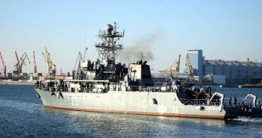 """78 de militari, într-o MISIUNE ISTORICĂ! Dragorul maritim """"Lt. Lupu Dinescu"""" intră sub comandă NATO"""