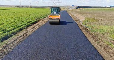 Drumul comunal 89 dintre Constanţa şi Poiana, modernizat