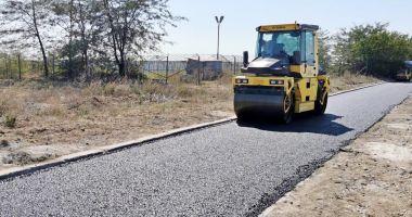 Drumul de acces către Baza Aeromedicală SMURD este asfaltat