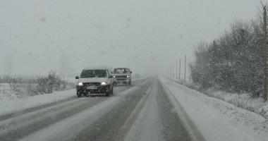 AVERTIZARE ANM DE VREME REA / Şoferi, ce trebuie să ştiţi dacă plecaţi la drum