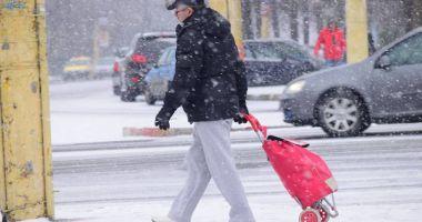 Polei, ninsori şi deosebit de frig, la Constanţa! Meteorologii au emis încă două atenţionări