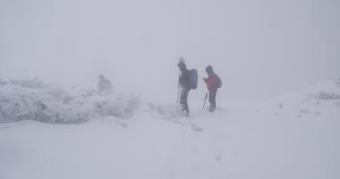Cei doi alpinişti dispăruţi în Retezat au fost găsiţi