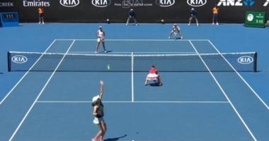 Victorie românească la Australian Open. Begu și Niculescu s-au calificat în optimi