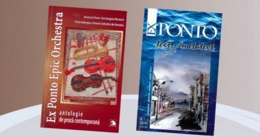 """Dublă lansare marca Ex Ponto, la Biblioteca Județeană """"I.N. Roman"""""""