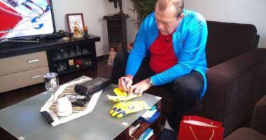 GALERIE FOTO / Ce cadou i-a făcut Duckadam lui Donald Tusk