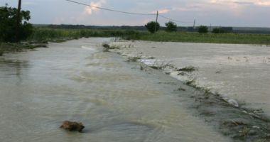 COD PORTOCALIU DE INUNDAŢII în Delta Dunării până pe 20 aprilie