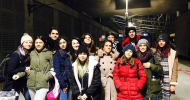 Elevii  din Cernavodă, alături în bănci  de colegii francezi