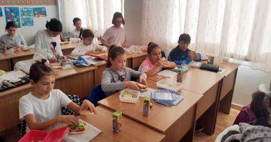 Elevii din Medgidia învaţă cum  să spună stop risipei alimentare