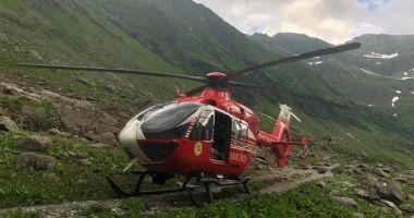 Operaţiune spectaculoasă de salvare, în Munţii Făgăraş