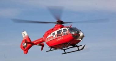 Copil în stare gravă, preluat de elicopterul SMURD