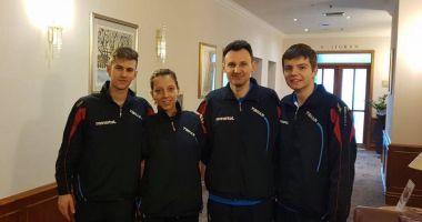 Eliza Samara,  Cristi Pletea şi Andrei Filimon, prezenţi  la ITTF Challenge Zagreb