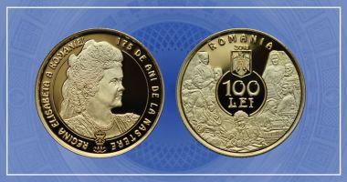 Emisiune numismatică dedicată reginei Elisabeta a României