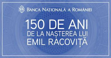 Emisiune numismatică dedicată lui Emil Racoviță