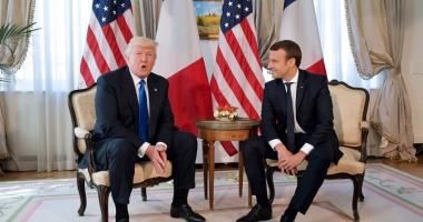 Emmanuel Macron l-a invitat  pe Donald Trump la parada din 14 iulie