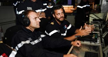 Emmanuel Macron, în vizită la bordul submarinului nuclear