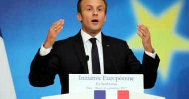Emmanuel Macron propune crearea unei adevărate Europe a apărării