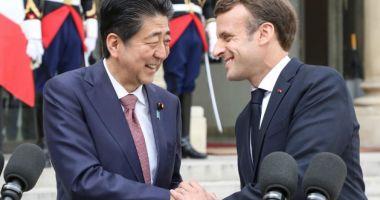 Emmanuel Macron va efectua prima sa vizită oficială în Japonia