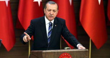 Erdogan anunţă că armata turcă va asedia oraşul sirian Afrin