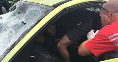 Un paramedic în concediu, eroul accidentului de la Costineşti!