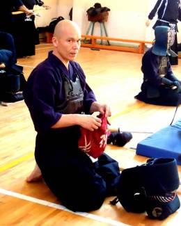 Campionatul Naţional de kendo, ediţia 2014. Ervin Ciorabai, premiul special Fighting Spirit