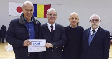 Ervin Ciorabai, premiat  cu Diploma Fighting Spirit