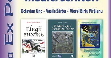 Eveniment de excepție: Trei medici scriitori constănțeni își lansează cărțile