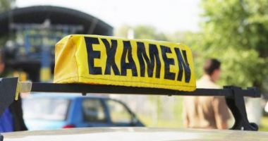 Nervos că polițistul i-a călcat frâna la examenul pentru permis, a sărit să-l bată