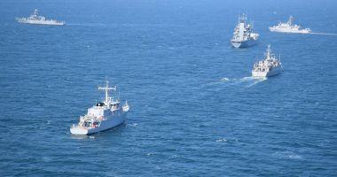 Forţele Navale Române participă la cel mai mare exerciţiu organizat de Turcia