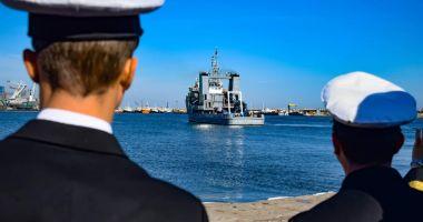 Exercițiul Danube Protector s-a încheiat. Marinarii militari  s-au întors acasă