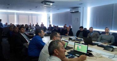 Experții EMSA susțin, la Constanța, cursul privind serviciile  maritime integrate