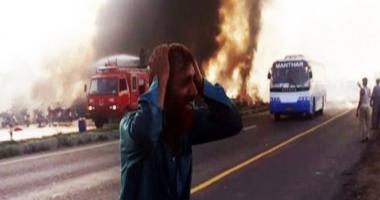 123 de morți după explozia unei cisterne